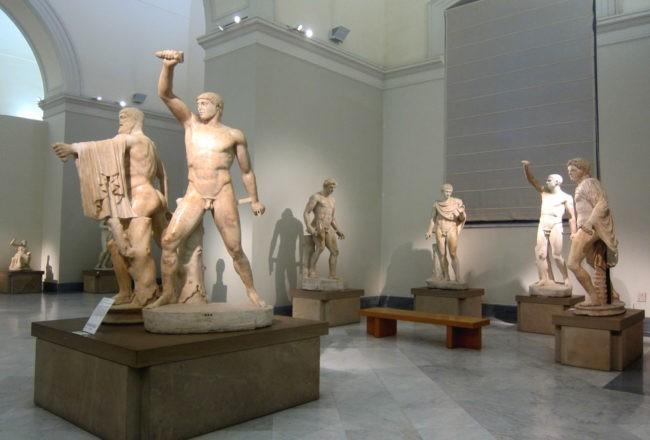 tirannicidi museo archeologico napoli
