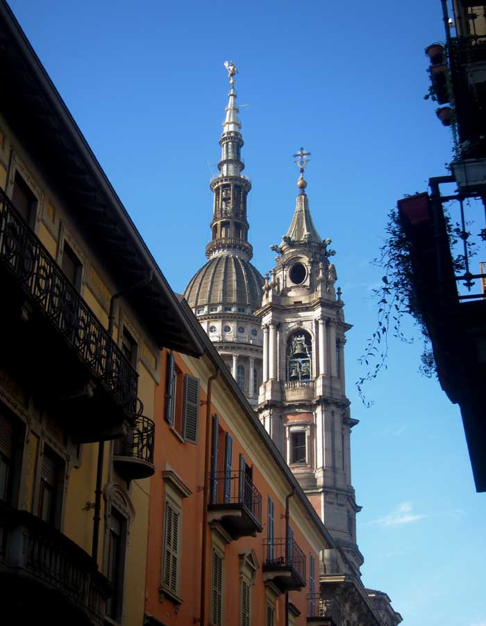 cupola e campanile san gaudenzio