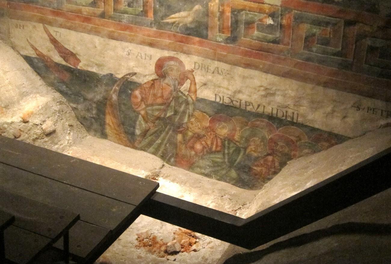 affreschi chiesa sant'orso
