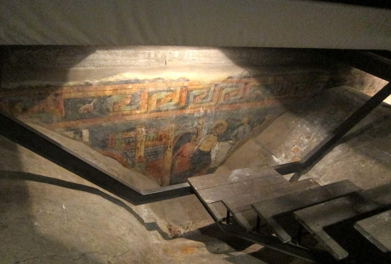 affreschi sant'orso aosta