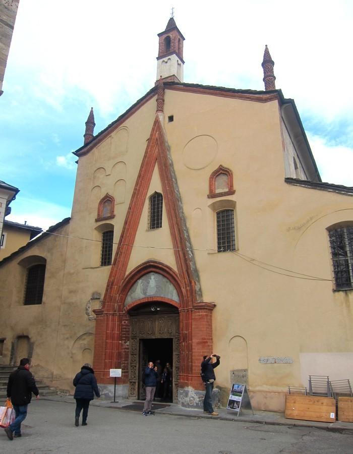 aosta chiesa di sant'orso