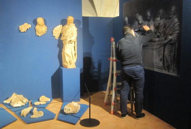 restauro statue terracotta