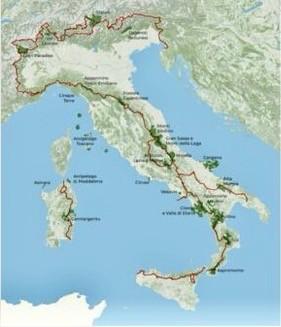 sentiero italia e sentiero dei parchi
