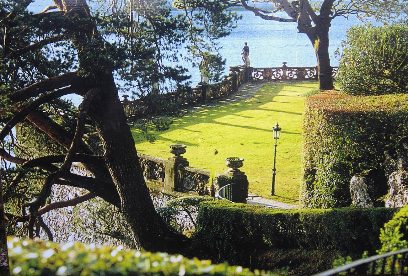 villa del balbianello terrazza lago