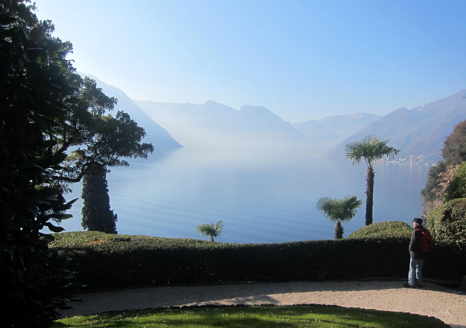 villa del balbianello vista lago